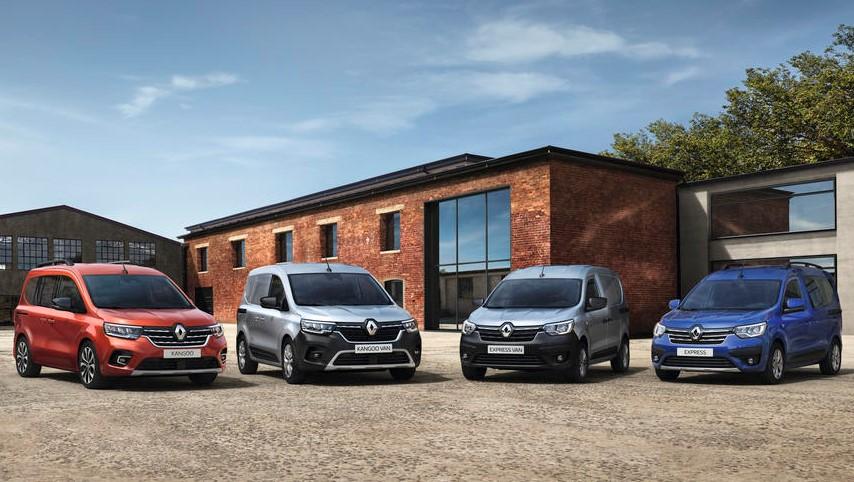 Neuer Renault Kangoo und Neuer Renault Express: noch vielseitiger, innovativer und geräumiger